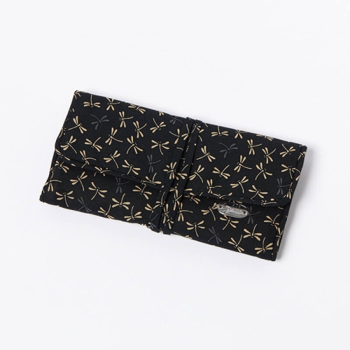 Jewellery-Roll-Black-Dragonfly-Closed