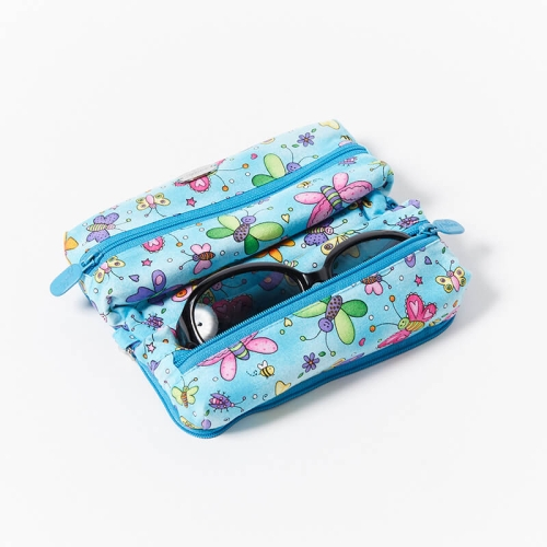 Multi-Purpose-Pouch-Butterflies-Blue-With-Glasses