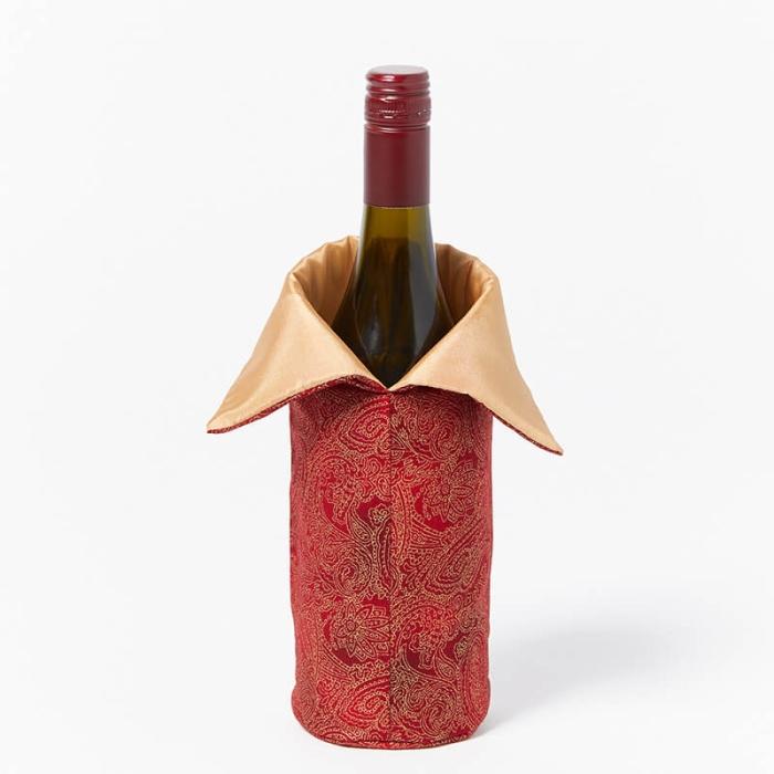 Wine-Bottle-Bag-Oriental-Red