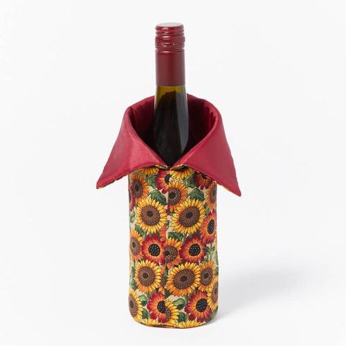 Wine-Bottle-Bag-Red-Sunflower