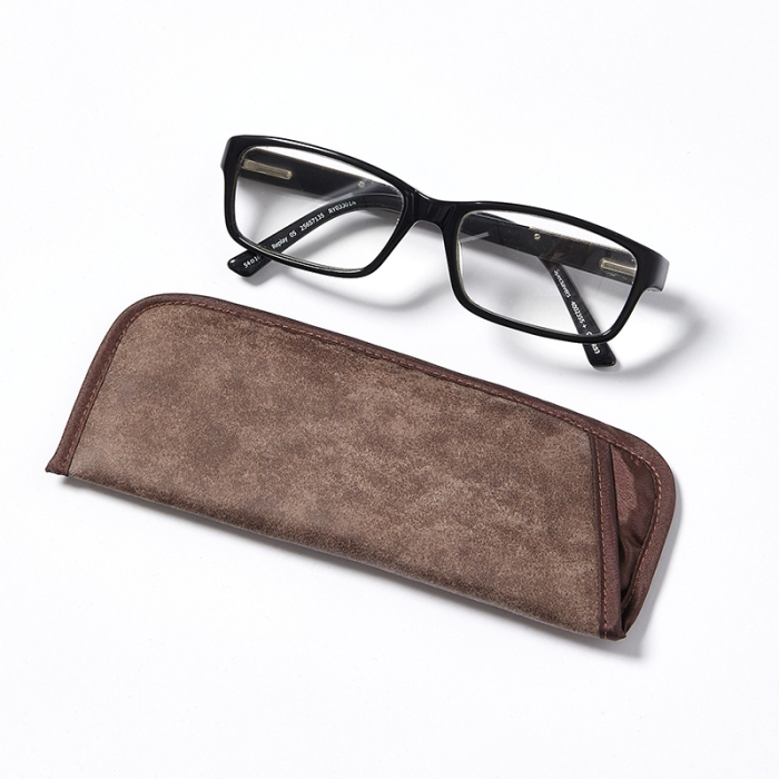 Glasses-Pouch-Brown-Suede